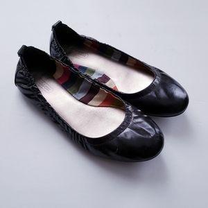 Coach Delight Black Ballet Flats Size 7.5